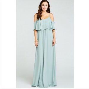 Show Me Your Mumu Silver Sage Caitlin Dress